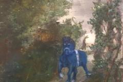 Den blå hest  privat