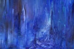Den blå skov   solgt