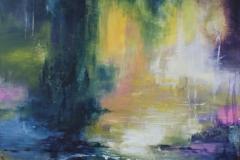 abstrakt landskab  solgt